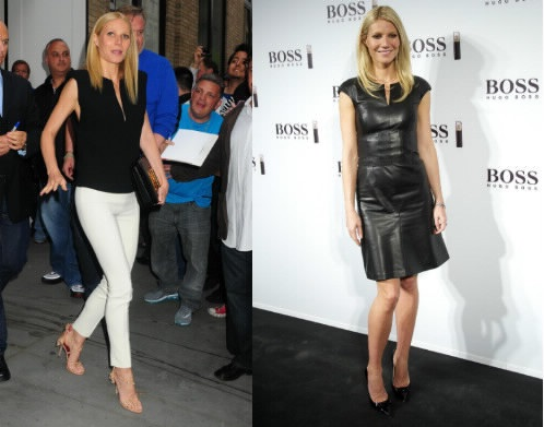 Gwyneth Paltrow, braccialetto personal trainer e resta in forma