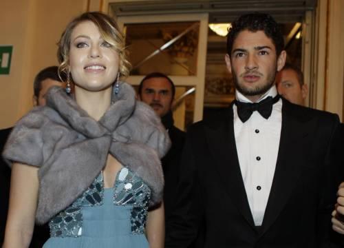 Barbara Berlusconi insieme ad Alexandre Pato