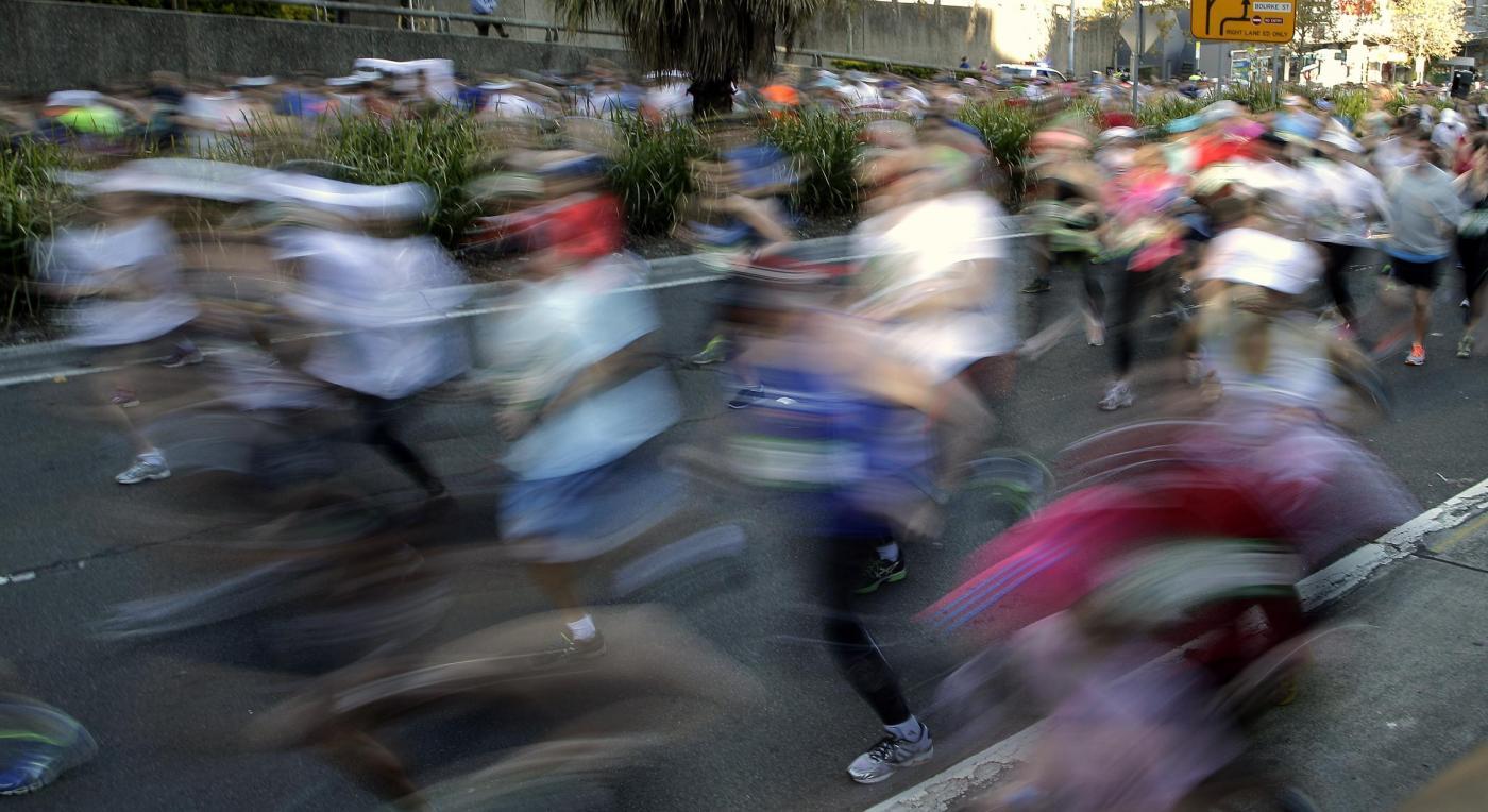 """""""City to surf run"""": gara in abiti bizzarri per le vie di Sydney09"""