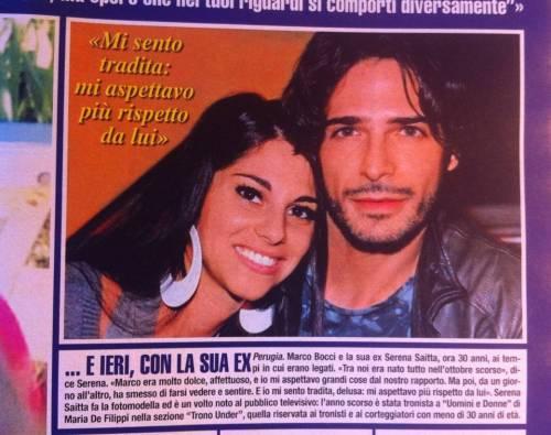 "Emma Marrone, Serena Saitta ex di Marco Bocci: ""Mi ha sedotta e abbandonata"""