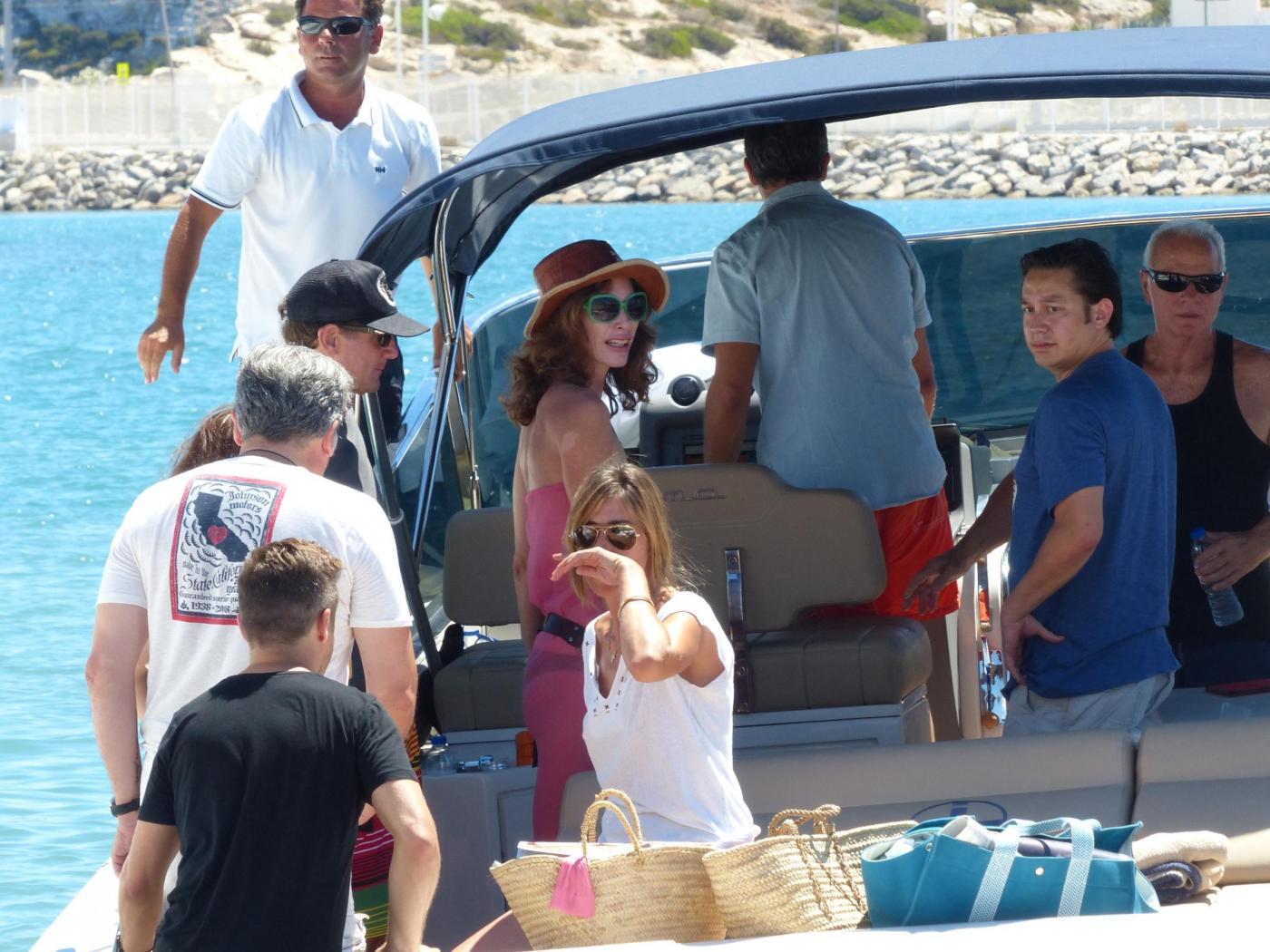 Sean Penn super tonico a Ibiza con la modella Cristina Piaget 02