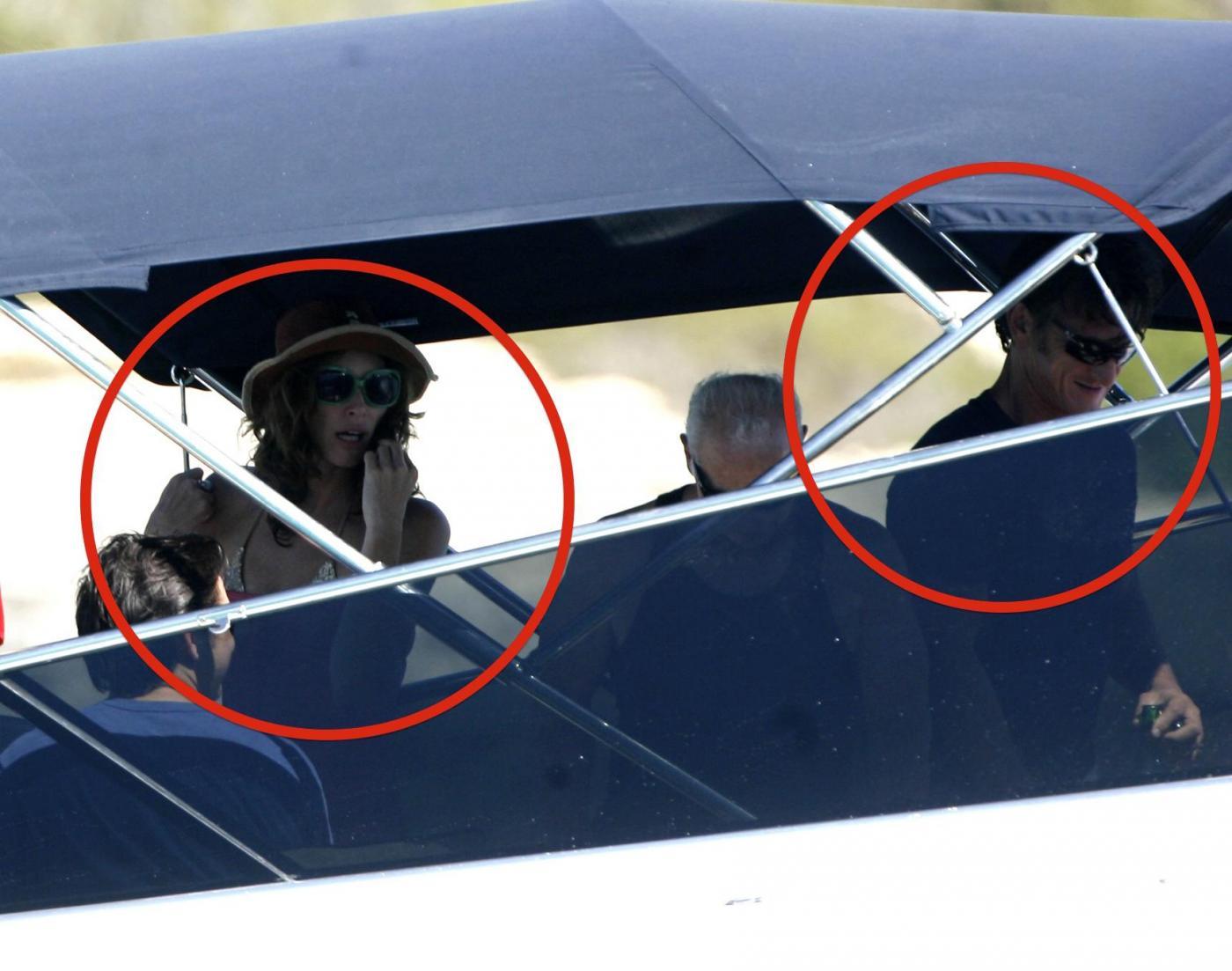 Sean Penn super tonico a Ibiza con la modella Cristina Piaget 11