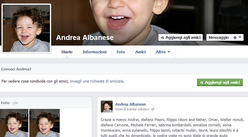 """Andrea Albanese: """"Quando Luca è morto in auto, pensai al suicidio"""""""