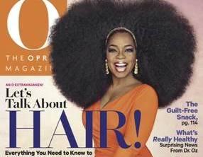 """Oprah Winfrey in taglia 56 nell'abito di Chiara Boni: la foto sul magazine """"O"""""""