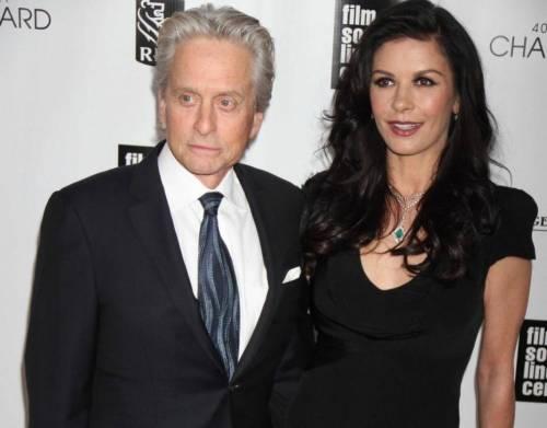 Michael Douglas e Catherine Zeta-Jones: separazione milionaria