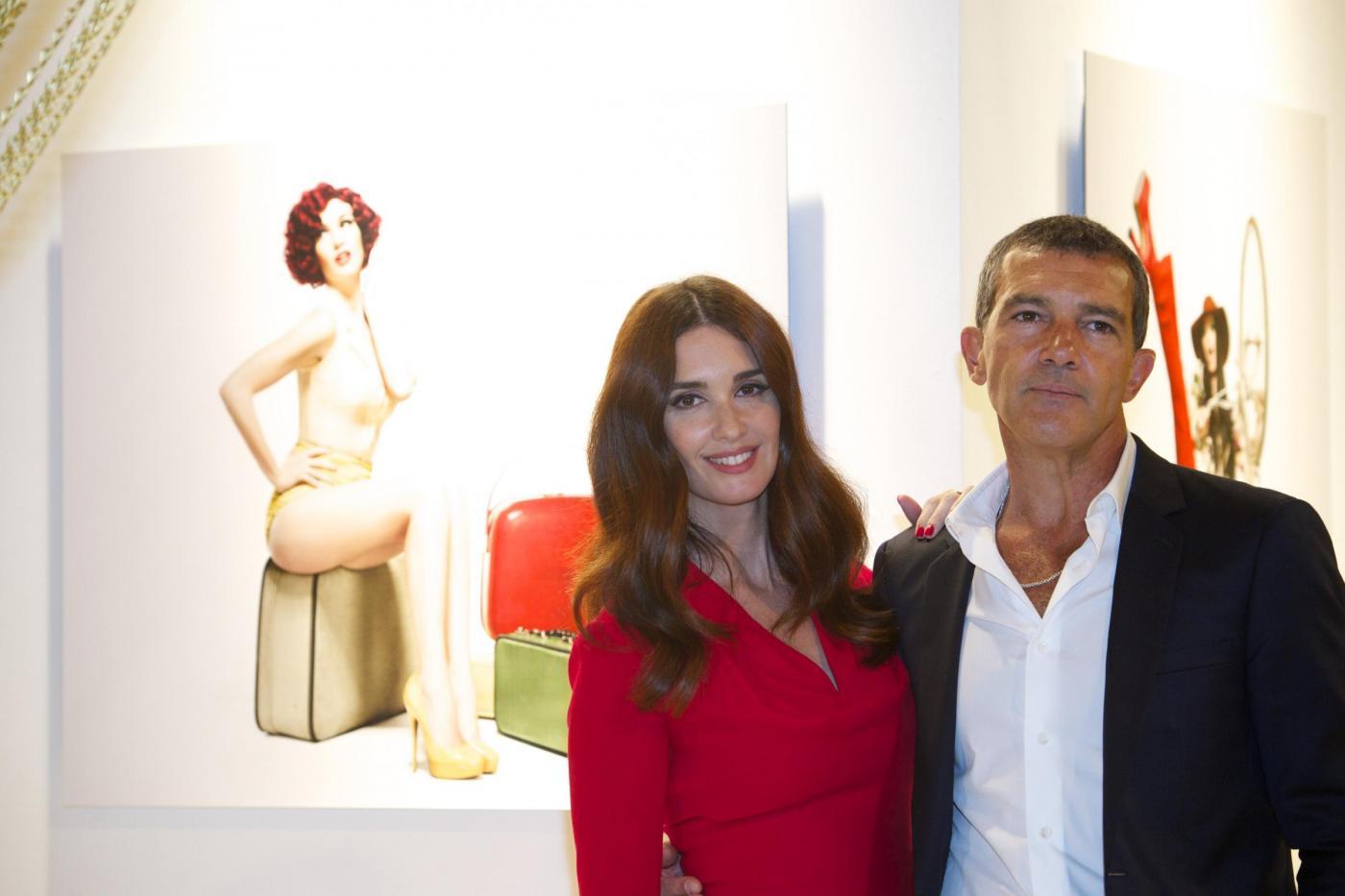 Antonio Banderas presenta il suo profumo di donna insieme a Paz Vega02