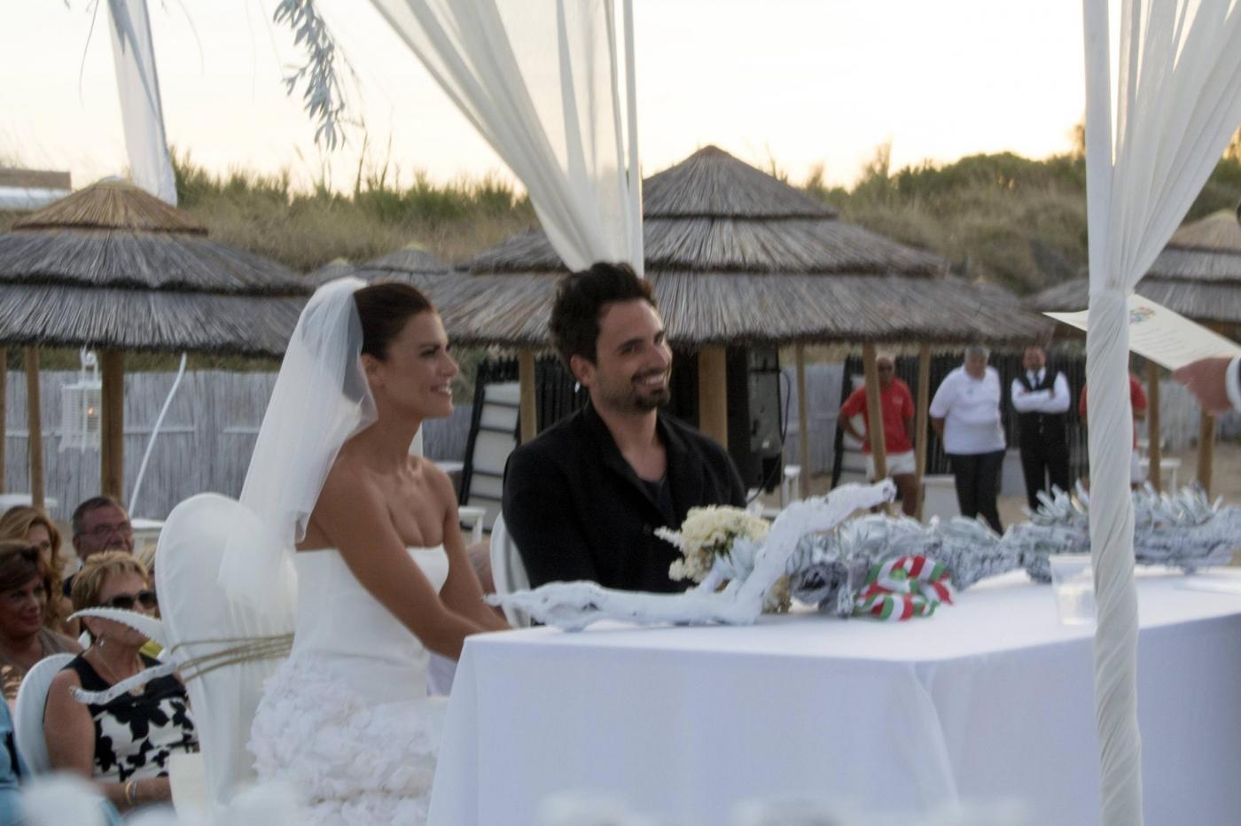 Bianca Guaccero e Dario Acocella sposi a Monopoli06 ...