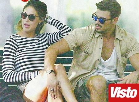 Cecilia Rodriguez e Francesco Monte, baci e passione: è amore?