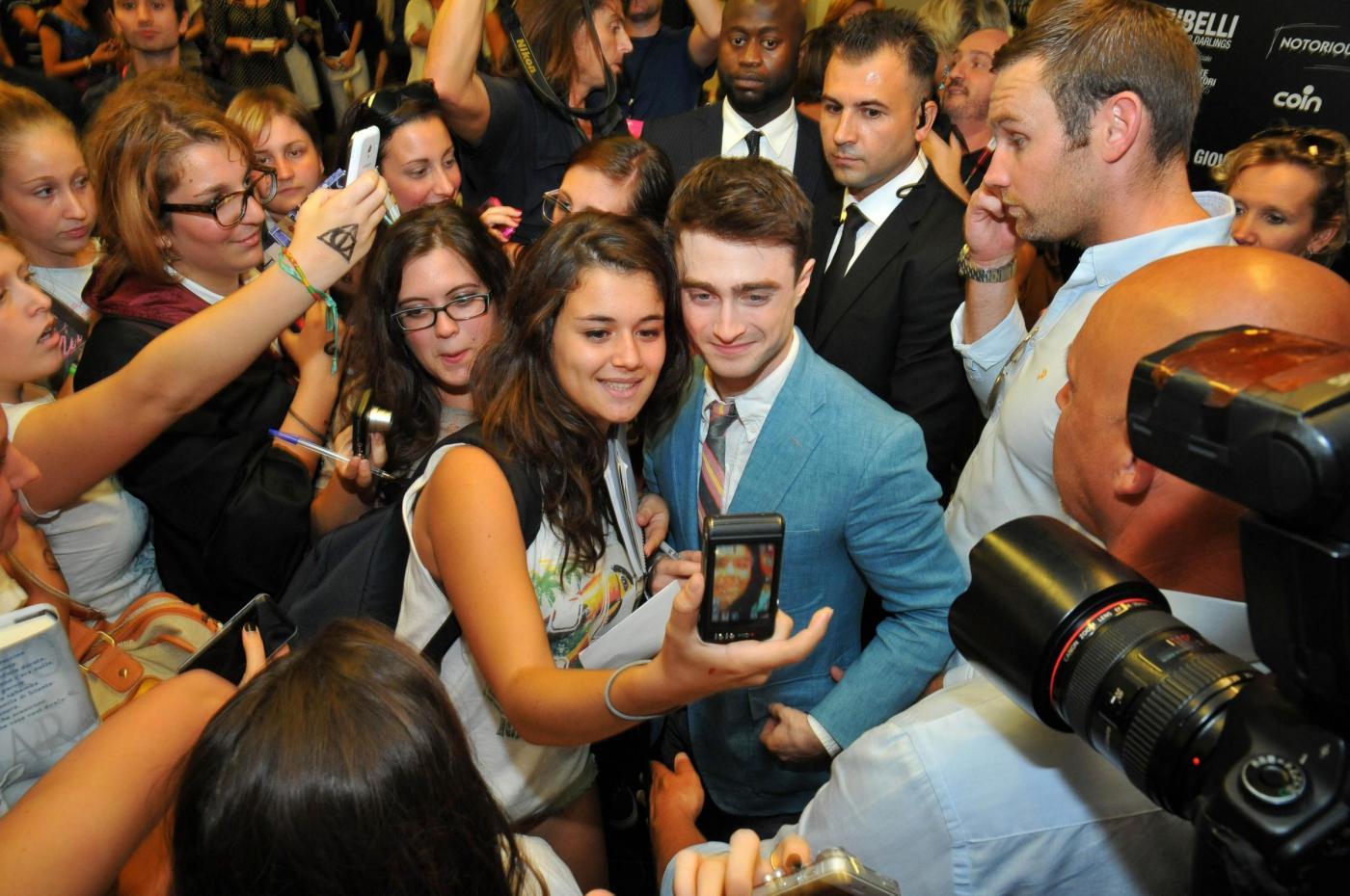 Daniel Radcliffe, l'ex Harry Potter sbanca Venezia06