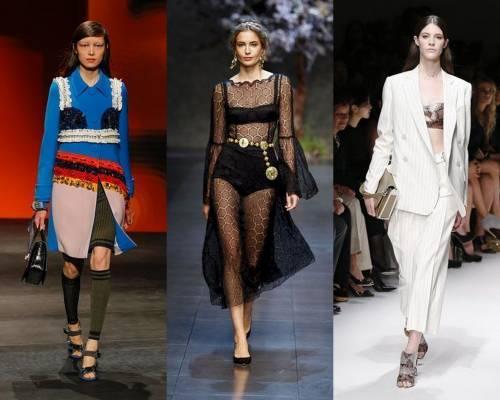 Milano Moda Donna, intimo in vista è trendy: cosa dirà Laura Boldrini?