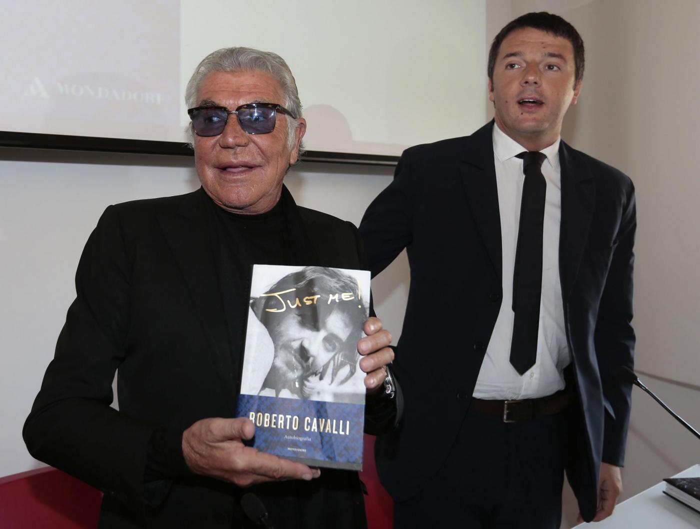 Roberto Cavalli presenta la sua autobiografia: ospite Matteo Renzi 02