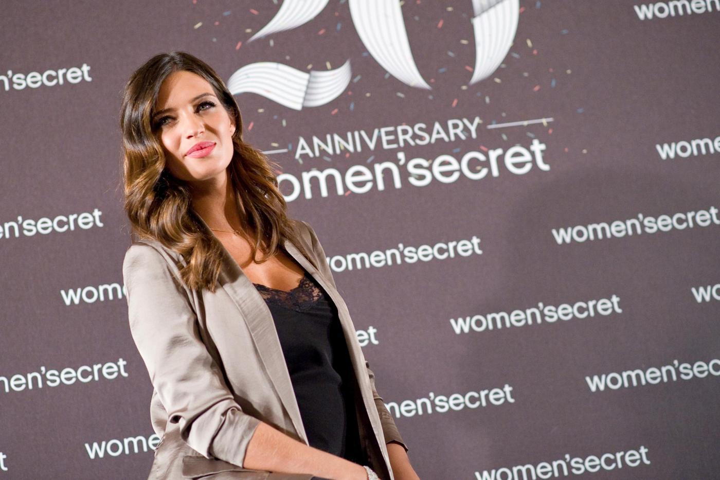 "Sara Carbonero donna immagine per i 20 anni di ""Women' Secret""01"