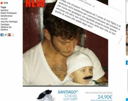 "elen Rodriguez indignata, ciuccio di Santiago in vendita: ""Basta!"""