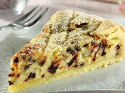 Ricette di dolci crostata con mascarpone e gocce di for Cucina semplice ricette