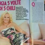 Antonella Clerici a dieta: 5 pasti per 5 kg. Ecco come mangia
