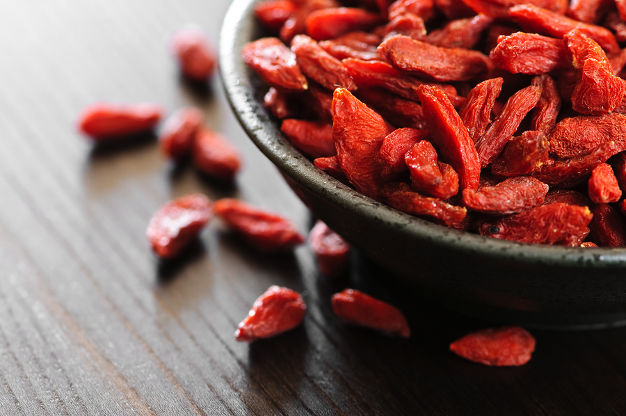 Bacche di goji: gli antiossidanti più potenti arrivati dal Tibet