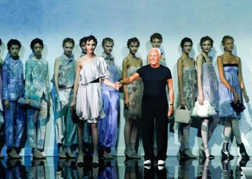 Giorgio Armani, donna femminile con brio per la p/e 2014