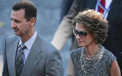 Asma al Assad, la first lady spende mentre la Siria langue