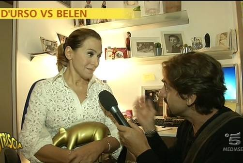 """Barbara D'Urso, Tapiro d'oro: """"Belen Rodriguez? Il nulla"""""""