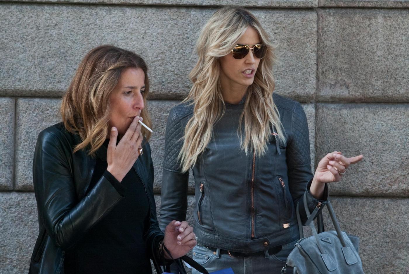 Elena Santarelli e Cristiana Capotondi: ad ognuna il suo shopping02