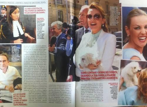 """Francesca Pascale: """"Umiliata ma...Silvio Berlusconi è il mio scudo"""""""