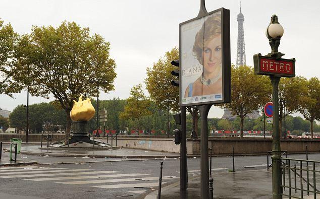 Lady D, il poster del film sulla galleria in cui la principessa morì 01