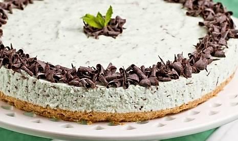 Ricette di dolci: cheesecake menta e cioccolato