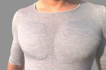La maglietta che scolpisce i pettorali