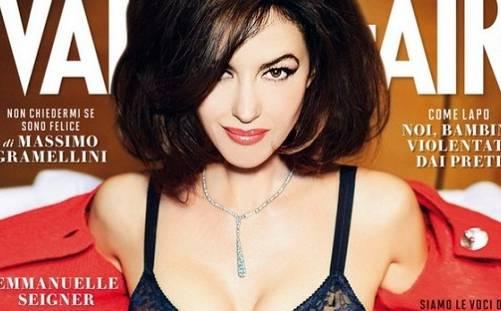 Monica Bellucci, bella ma non così tanto: fans contro copertina Vanity Fair