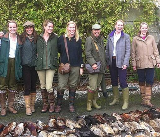 Pippa Middleton va a caccia: le foto fanno arrabbiare gli animalisti