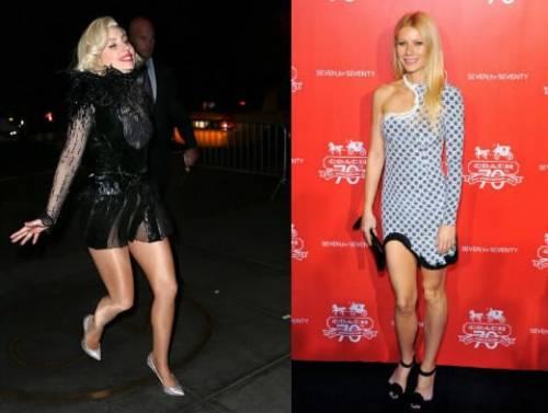 Lady Gaga, Gwyneth Paltrow ... torna la moda dei peli all'inguine