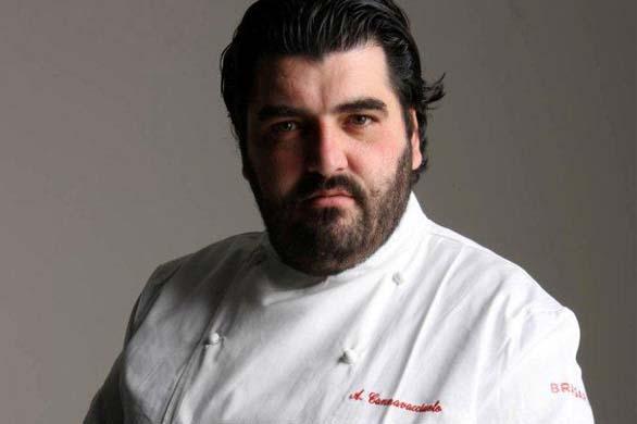 Antonino Cannavacciuolo apre la sua cucina a Leonardo Pieraccioni