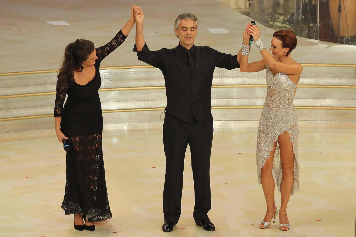 """Ballando"""": Bocelli e la moglie, il valzer di Gabriella Pession e Roberto Imperatori03"""