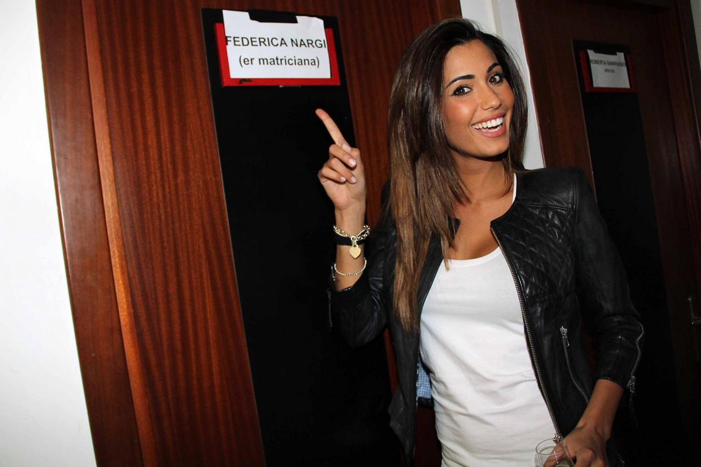 Federica Nargi, l'ex velina debutta al teatro Brancaccio di Roma02
