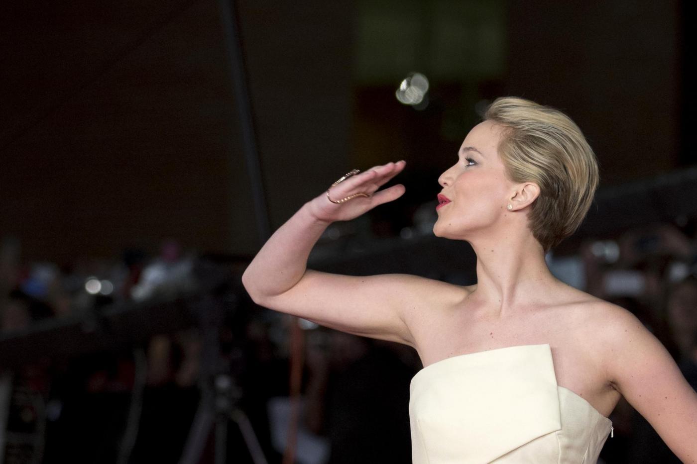 Hunger Games 2, Jennifer Lawrence strega Roma04