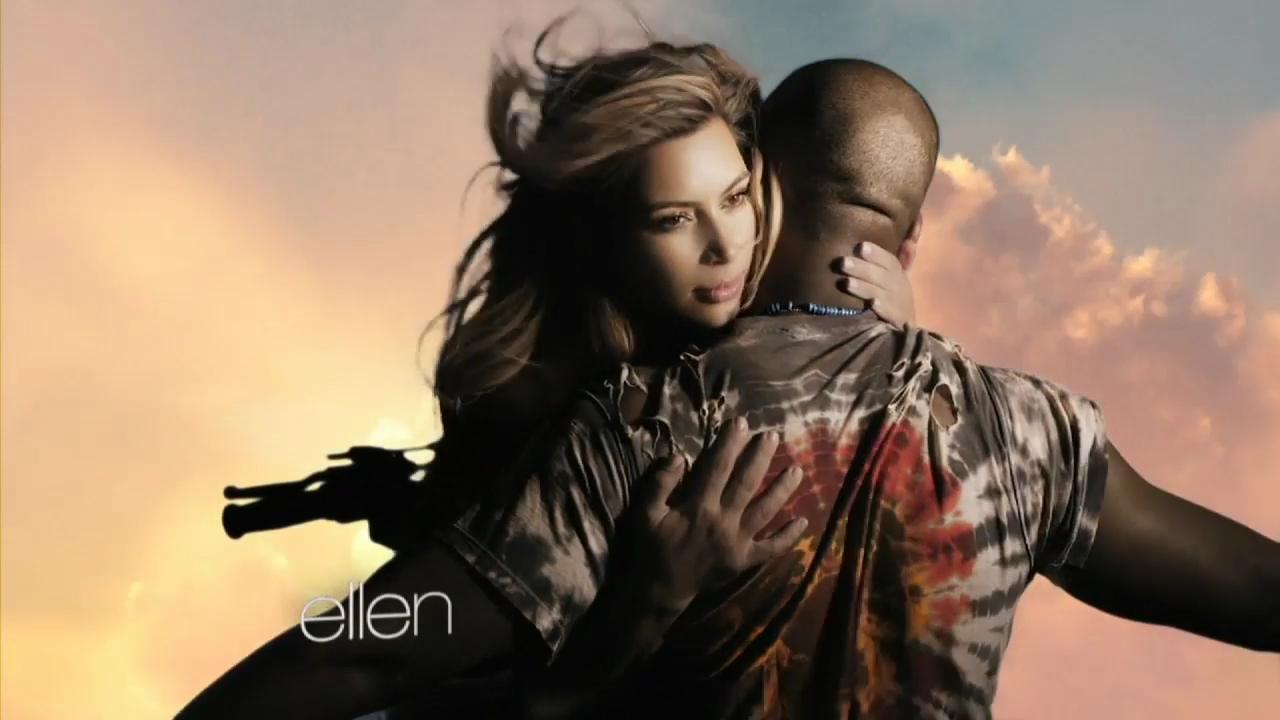 """Kanye West in """"Bound 2"""" sceglie la moglie Kim Kardashian02"""