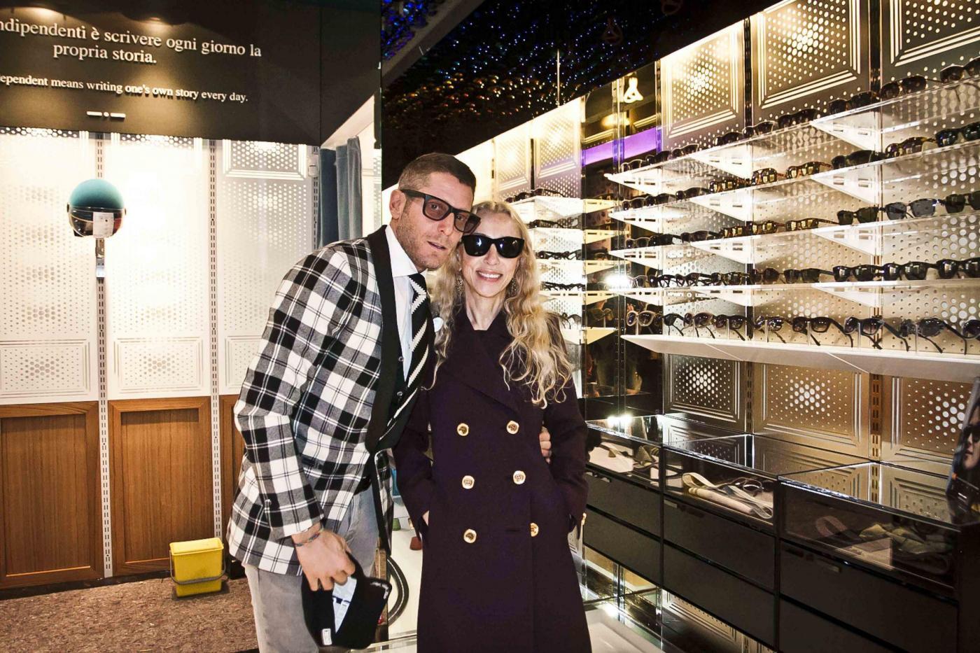 Lapo Elkann, Franca Sozzani all'inaugurazione del negozio di Milano06