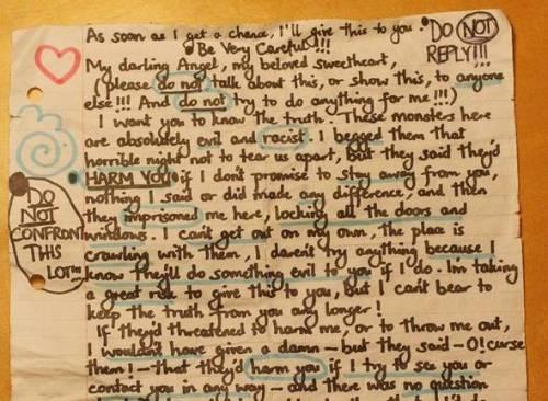 """La schiava di Londra, lettera al vicino: """"Sono intrappolata in rete di mostri"""""""