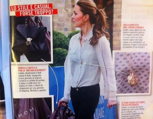 Kate Middleton: jeans, sneaker e low cost. Per strada regina del casual