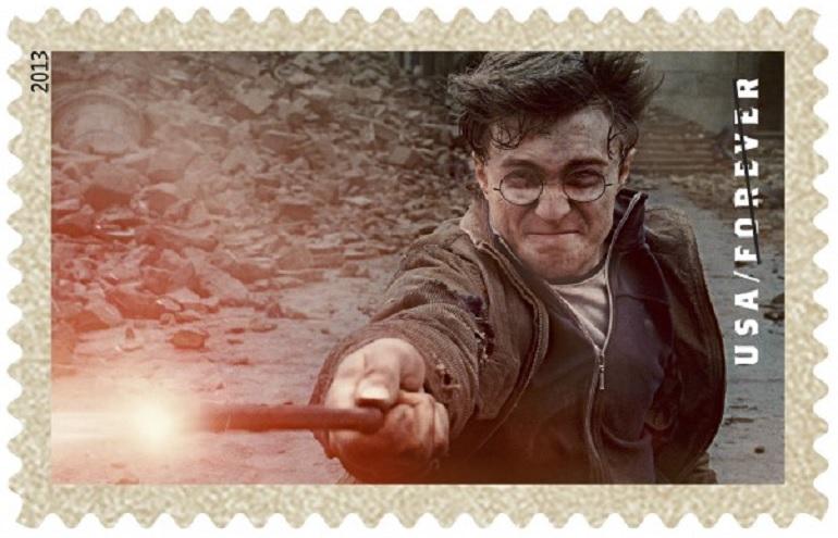 Harry Potter, francobolli sbarcano negli Usa