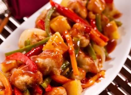 Ricette di secondi: maiale con ananas in salsa agrodolce
