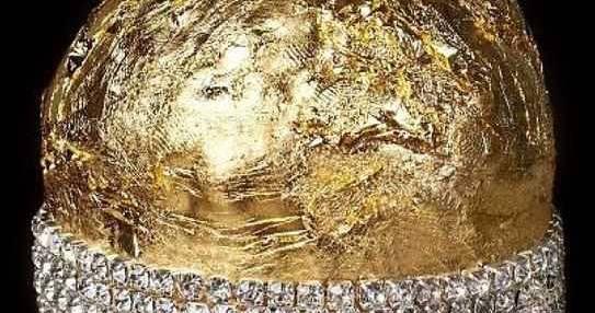 Panettone da 80mila euro con oro e diamanti
