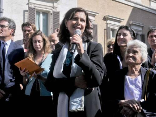 """Discriminazione femminile, Laura Boldrini: """"Donne ribellatevi fin da bimbe"""""""