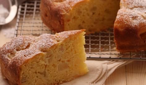 Ricette di dolci: torta pere e ricotta