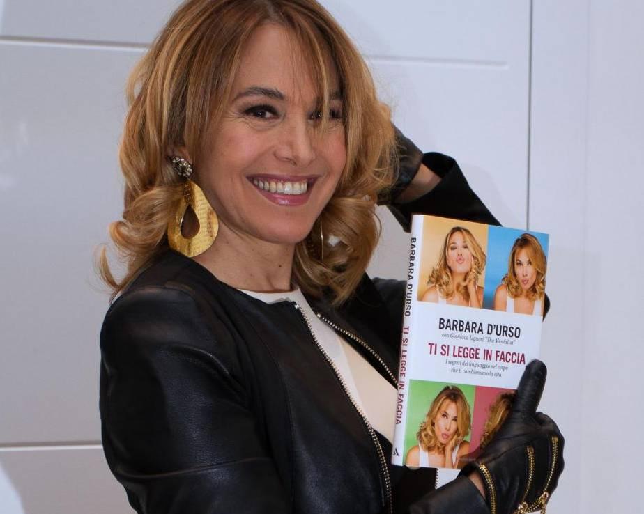 Barbara D'Urso presenta il suo nuovo libro Ti si legge in faccia 03