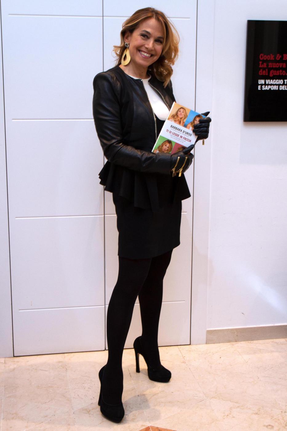 Barbara D'Urso presenta il suo nuovo libro Ti si legge in faccia 05
