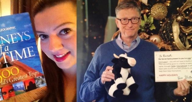Bill Gates riffa di Natale
