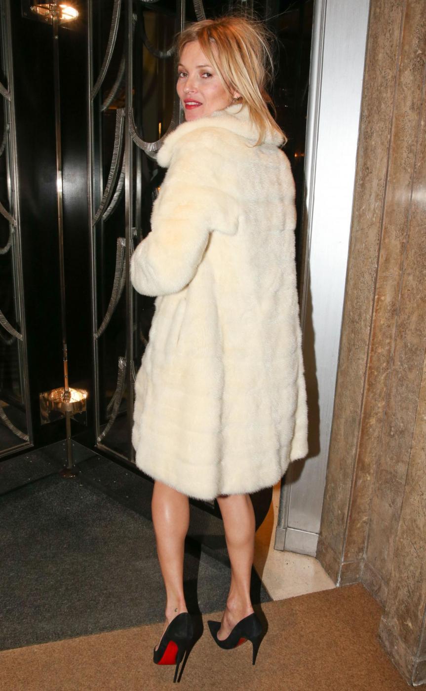 Kate Moss alla British Fashion Awards (LaPresse)01