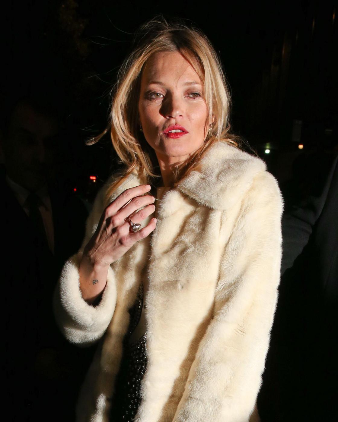 Kate Moss alla British Fashion Awards (LaPresse) 02