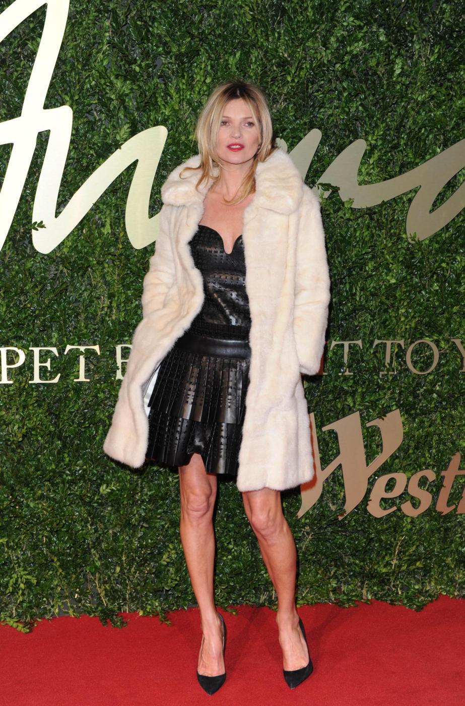 Kate Moss alla British Fashion Awards (LaPresse) 03